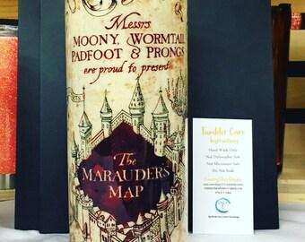 Harry Potter -  Marauders Map Tumbler