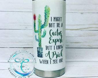 Cactus Expert Tumbler