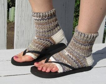 cc2e9f3bf94a6b Flip flop socks