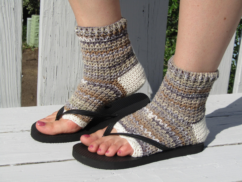 Pedicure Socks Flip Flop Socks Toe Less Socks Yoga Socks Etsy