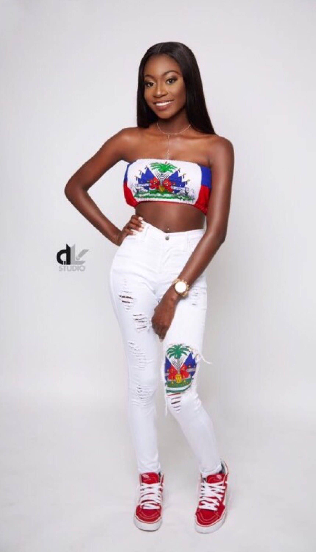 Haitian Flag Top Any Flag Xs S M L Xl Etsy
