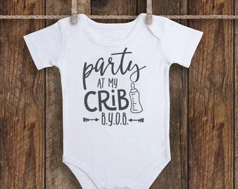 Party at My Crib Baby