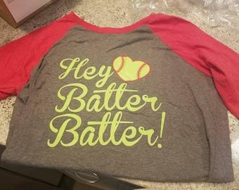Hey Batter Batter Women's 3/4 T