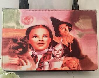 "Vintage Wizard of Oz 9"" x 6"" Purse with black handles"