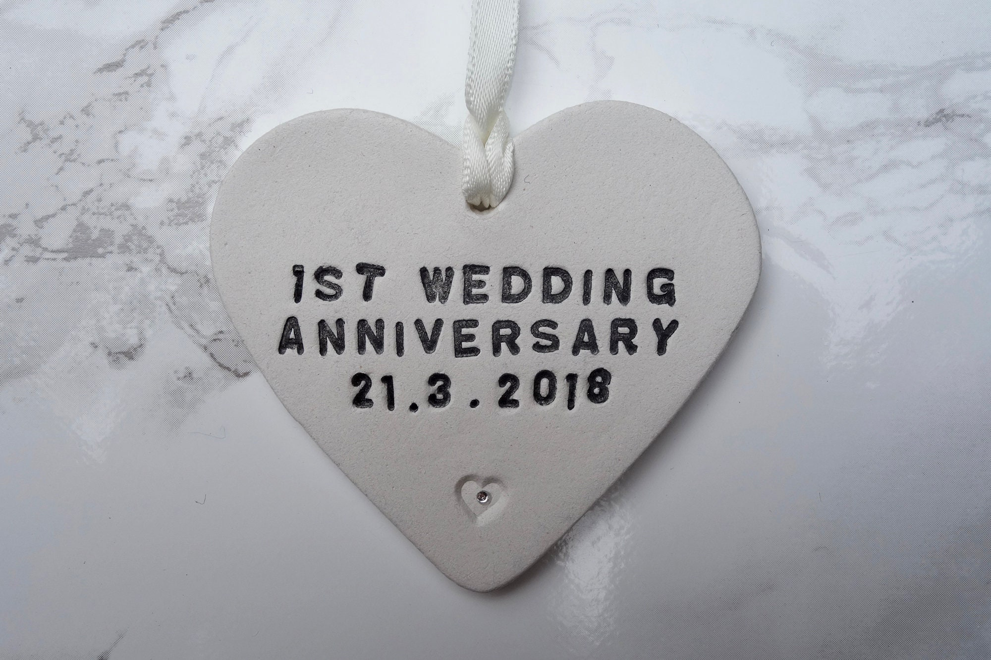 Personalised 1st Wedding Anniversary Gifts: Personalised Anniversary Gift First Wedding Anniversary