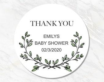 Baby Shower Sticker - Custom Girl / Boy Baby Shower Label, Personalized Baby Shower Favor Sticker, Its a Girl or Boy Sticker #FL20