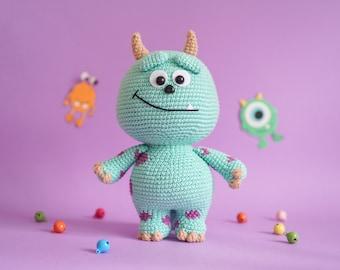 Little Monster (Amigurumi Crochet PDF Pattern by Aquariwool)