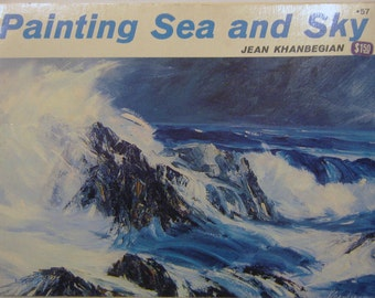 Painting Sea and Sky by Jean Khanbegian