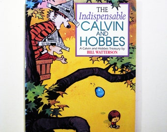 "Vintage Comic ""The Indispensable Calvin and Hobbes"" by Bill Waterson"