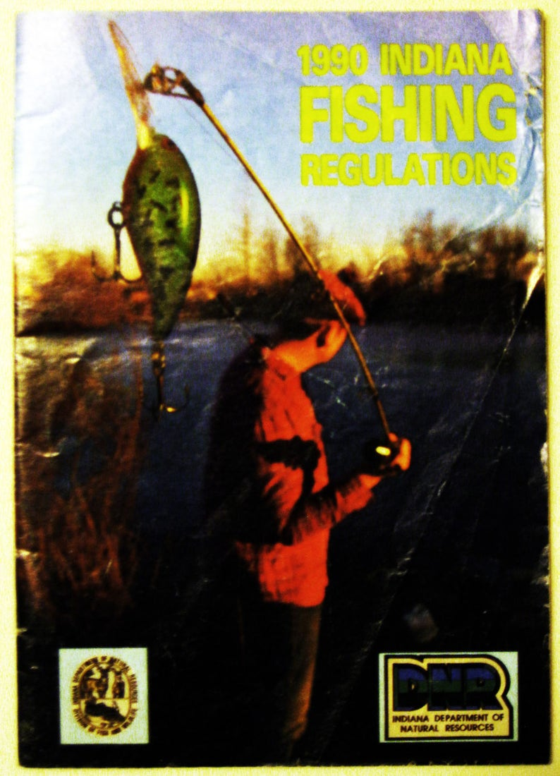 1990 Indiana Fishing Regulations