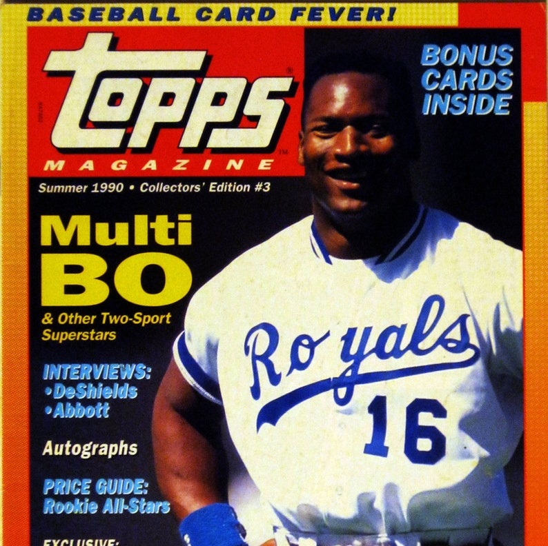 Topps Magazine Summer 1990 Collectors Edition 3