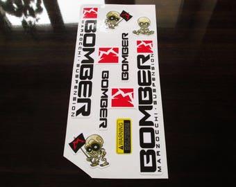Marzocchi Bomber 55/ 888  Art sticker/Fork /Colored sticker