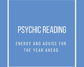 Psychic Reading: Energy Advice for the Year Ahead