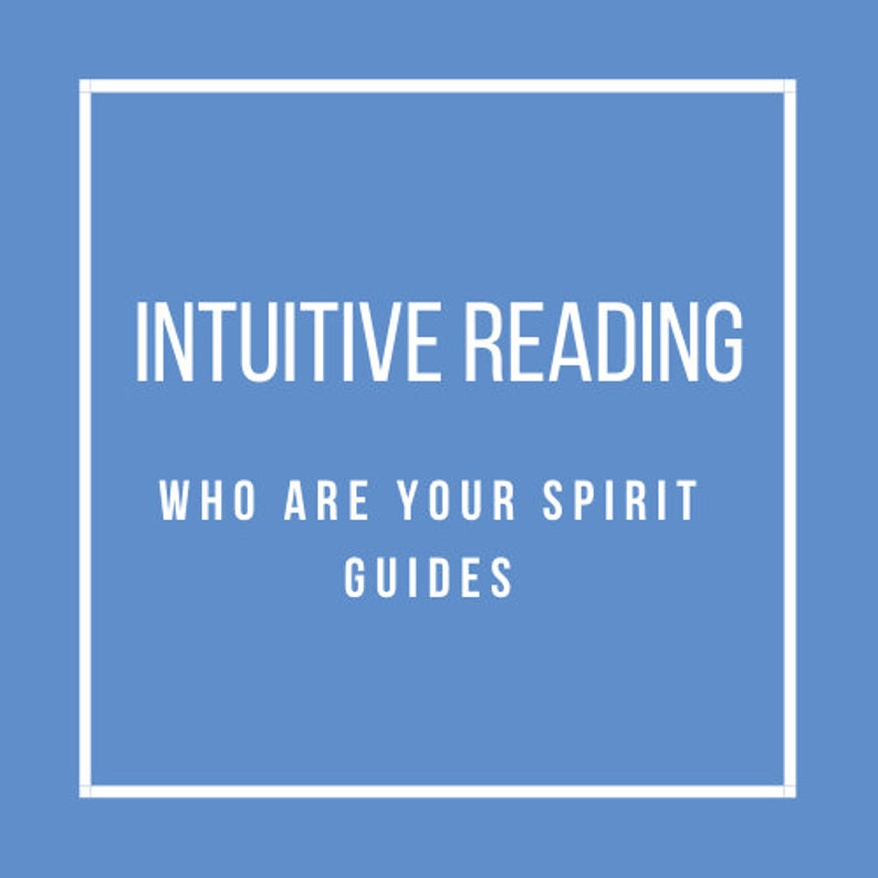 Intuitive Reading: Who are your spirit guides image 0