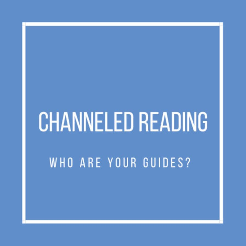 Channeled Reading: Who are your spirit guides 3 spirit guides image 0