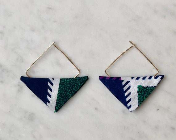 Lwala Sapphire Earbobs