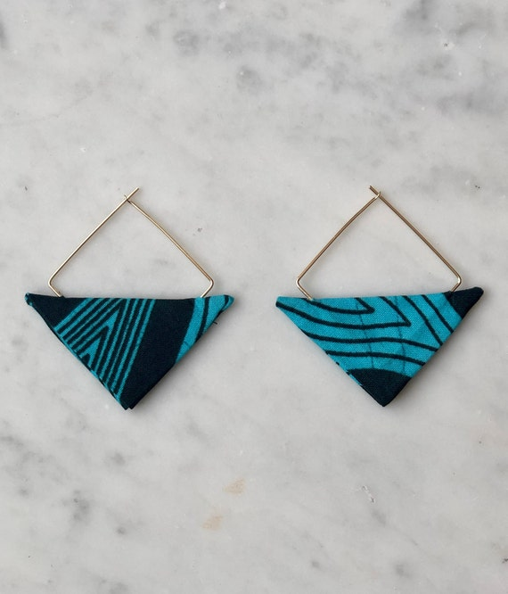 Lwala Turquoise Earbobs