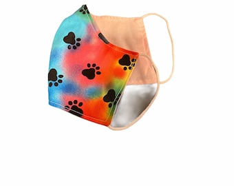 Reversible Cotton Mask- Children/Adult Small