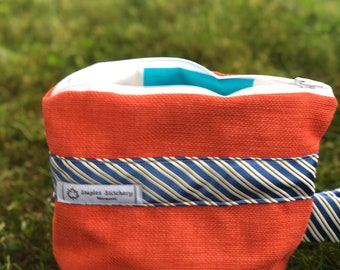 Mini tote/Cosmetic Bag