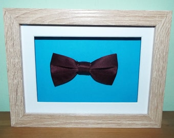 Bowties are cool Eleventh Doctor from Doctor Who inspired frame