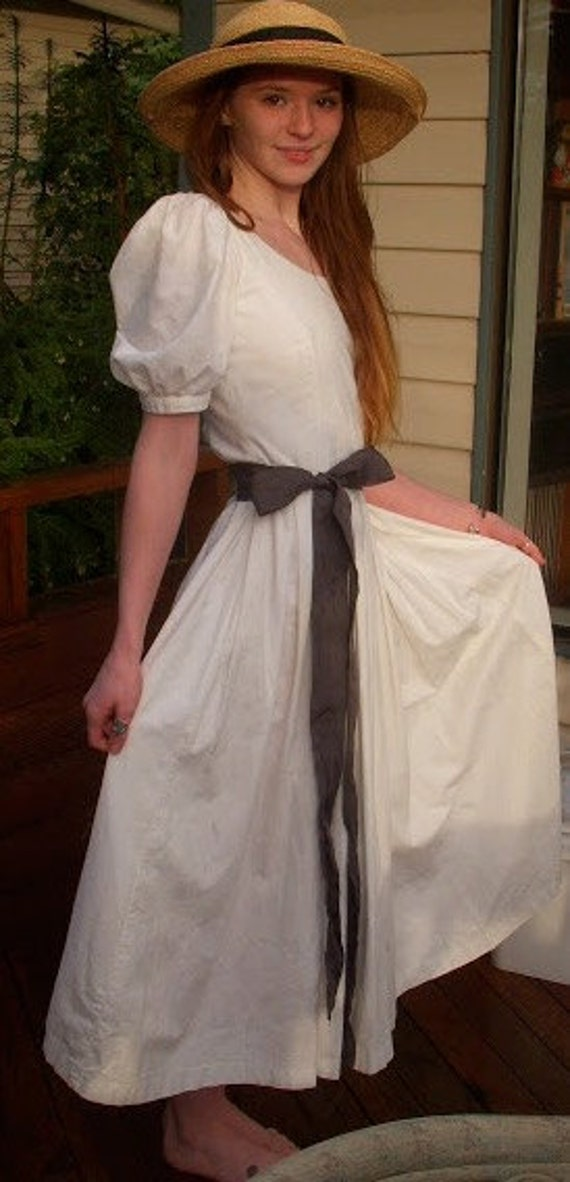 1980's Laura Ashley Cotton Dress
