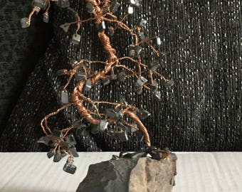 Hematite Gemstone Tree