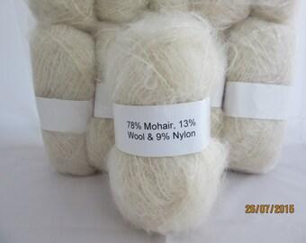 Crea crafts harmony basalt wool yarn knitting//crochet 7 x 25 g balls freepost