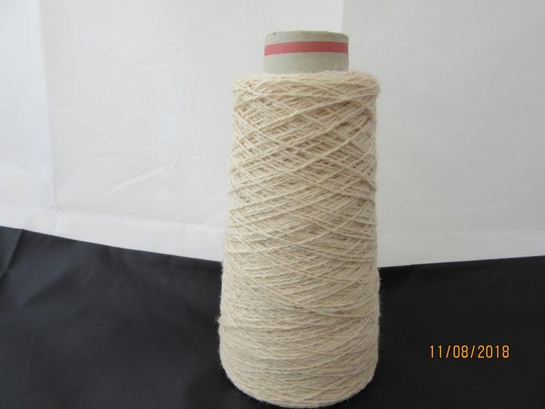 Shade Oatmeal Beige 4 Ply Shetland Yarn 100/% Wool 100g or 400g Cone 29/'s NM