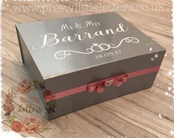 Wedding keep sakes box