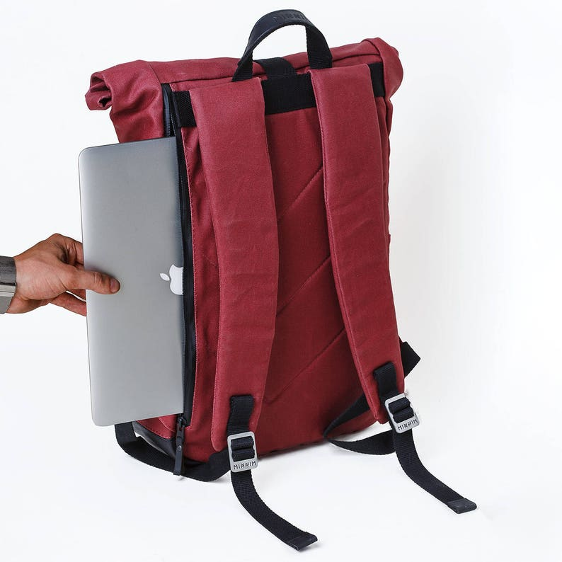 Laptop Backpack Roll Top Backpack Cute Backpack
