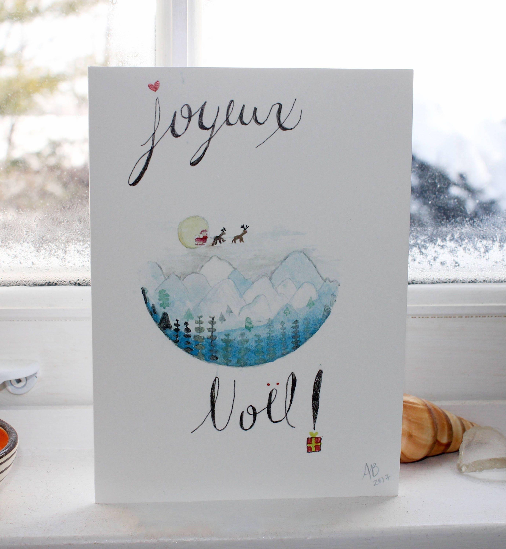 Christmas Joy Handmade Cards Blank Cards