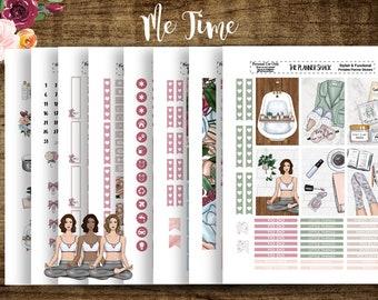 Me Time | 2018 Big Happy Planner | Printable Planner Stickers | Planner Printables | Fairy Tale | Story Line | Cut Files | Weekly |Self Love