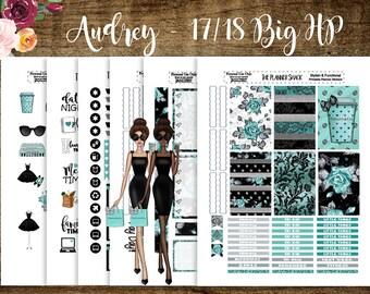 Audrey | 2017 Big Happy Planner | Big Happy Planner | Printable Planner Stickers | Printable | Planner Printables | Audrey Hepburn