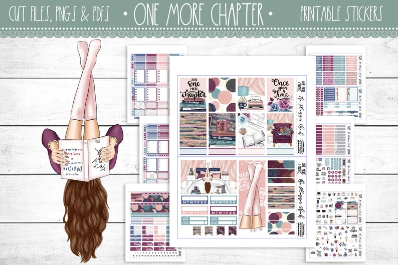 One More Chapter  Erin Condren  Once Upon A Time  Printable image 0