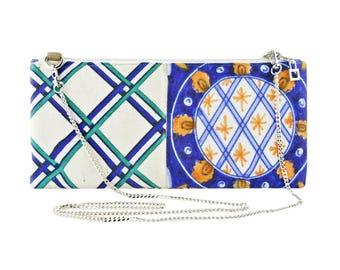 Canvas Tiles inspired mini bag