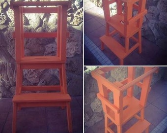 Apprentissage-tour Montessori Orange