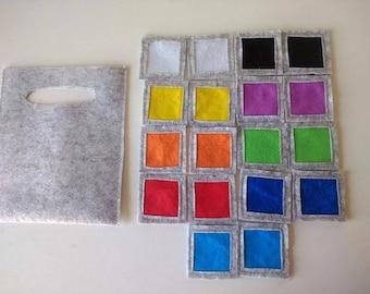 Color Appaimenti-material on Montessori inspired