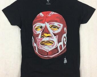 Mexican wrestler lucha libre