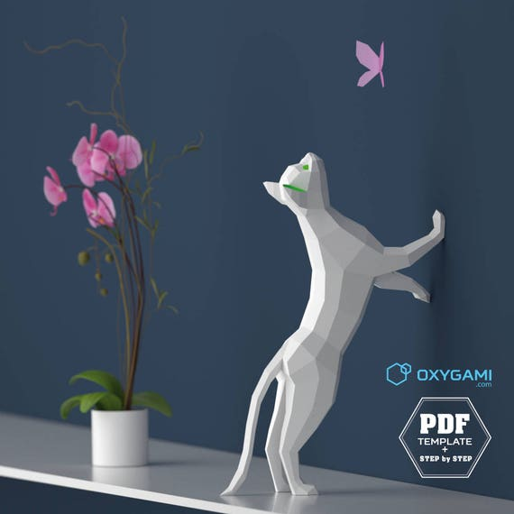 3D ORIGAMI STEP BY STEP ILLUSTRATIONS #1 | Origami | Printing ... | 570x570