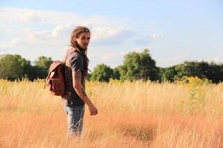 TABBA   Leather Backpack Men, Backpack Women, Leather Rucksack, Leather Bag, Shoulder Bag, Drawstring Backpack, Travel Bag, Leather Satchel