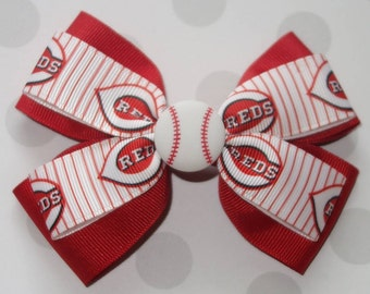 Reds Hair Bow
