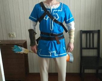 The Legend of Zelda: Breath of the Wild Link cosplay