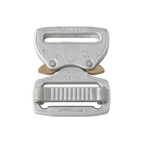 Austrialpin 25mm//1 Inch D-Ring Buckle Matte Black