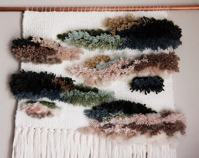 Fleur | Large Woven Wall Hanging