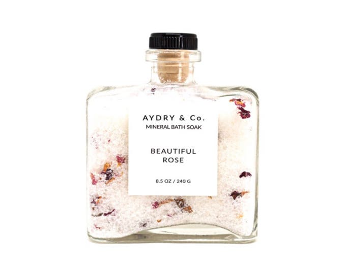 Beautiful Rose | Mineral Bath Soak