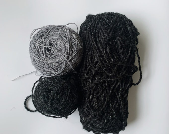 Black and Gray Fibre Pack