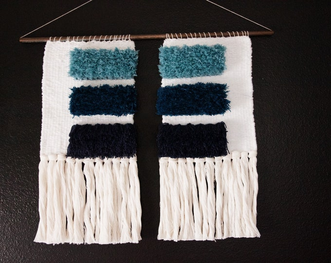 Blue Gradient Wall Hanging