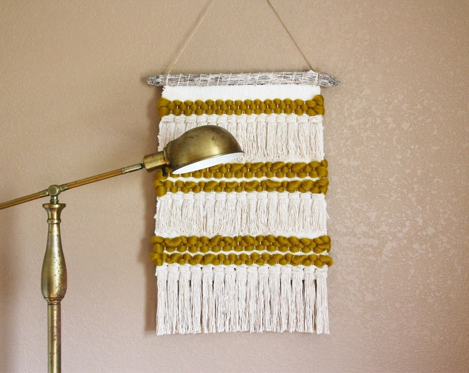 Dijon & Cream Wall Hanging