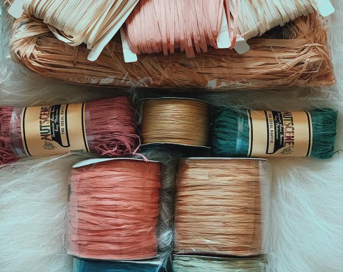 RAFFIA - Basket Weaving