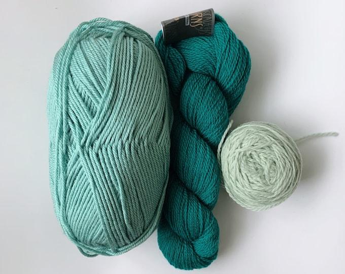 Green/Blue Fibre Pack